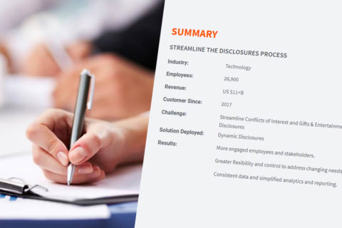Dynamic Disclosures Case Study